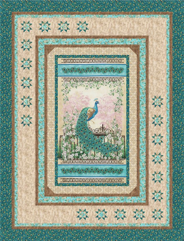 Free Pattern Jewel Of The Garden Karen Bialik Quilts
