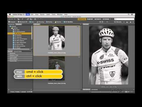 ▶ Photoshop CC tutorial: Processing multiple files at once | lynda.com - YouTube