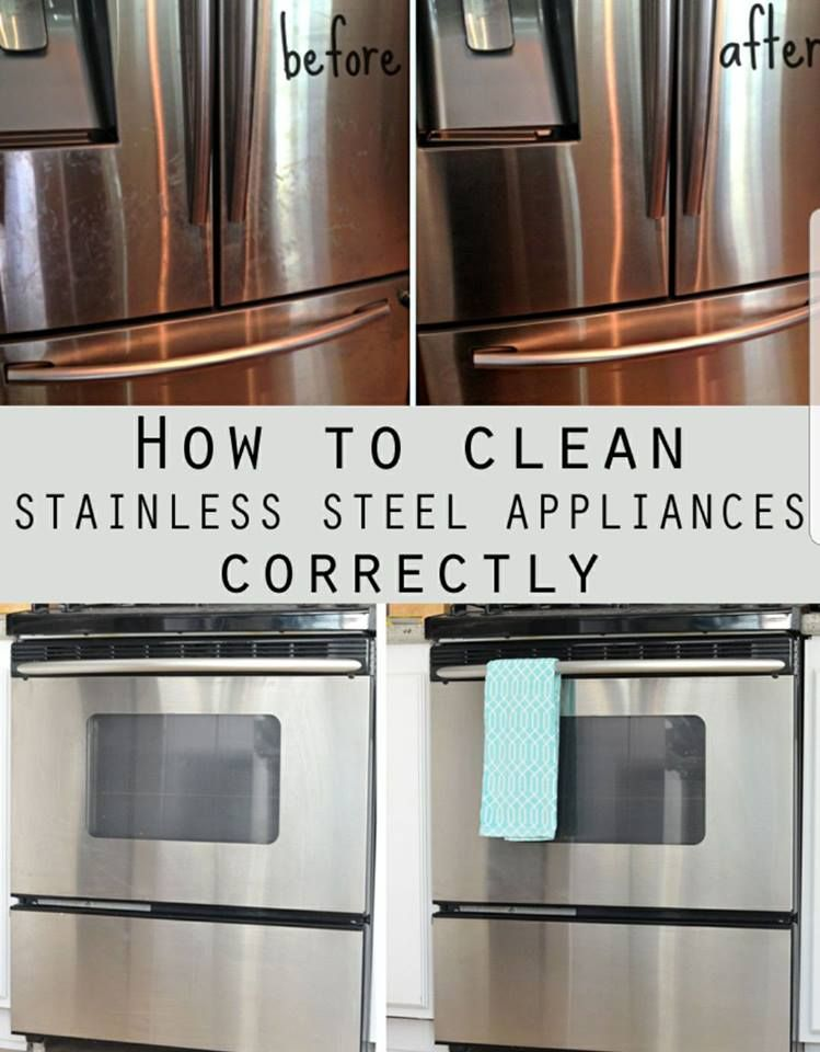 Diy Tips To Clean Stainless Steel Appliances With Images