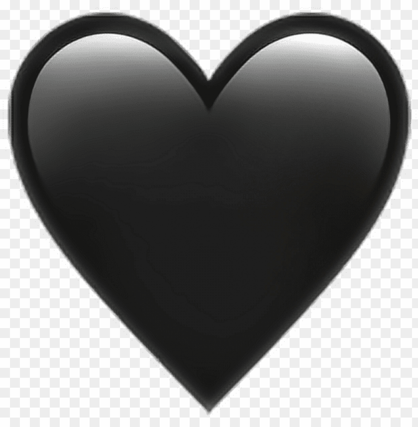 Black Heart Emoji Heart Black Emoji Emoticon Iphone Png Image With Transparent Background Png Free Png Images In 2020 Black Heart Emoji Heart Emoji Black Emoji