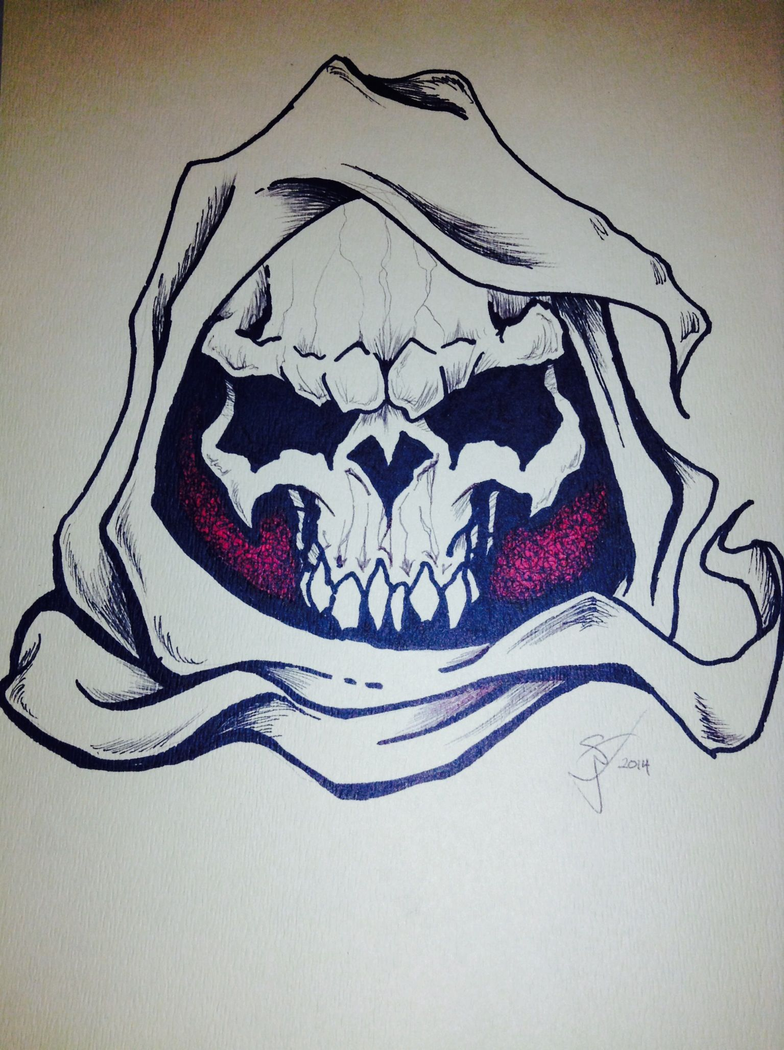 Uncategorized Drawing Of Grim Reaper grim reaper drawings in pencil marker and pen on paper
