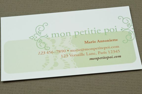Cute Biz Card Template Random Pinterest Card Templates - Biz card template