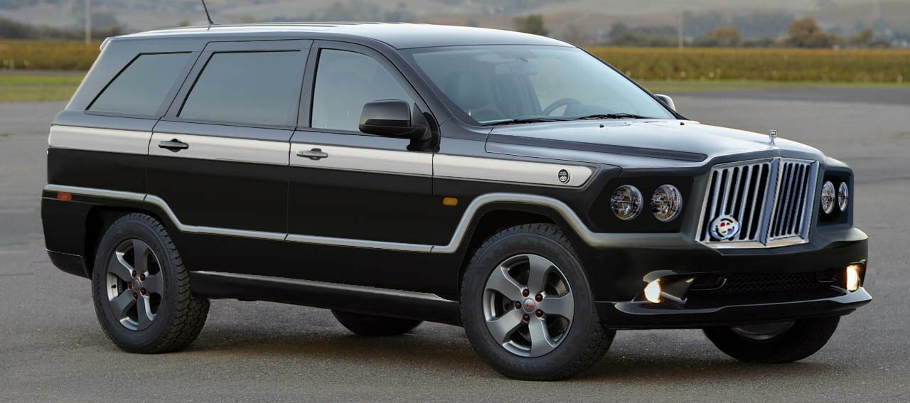 jeep grand wagoneer based on the current generation durango grand cherokee i used the rhino. Black Bedroom Furniture Sets. Home Design Ideas