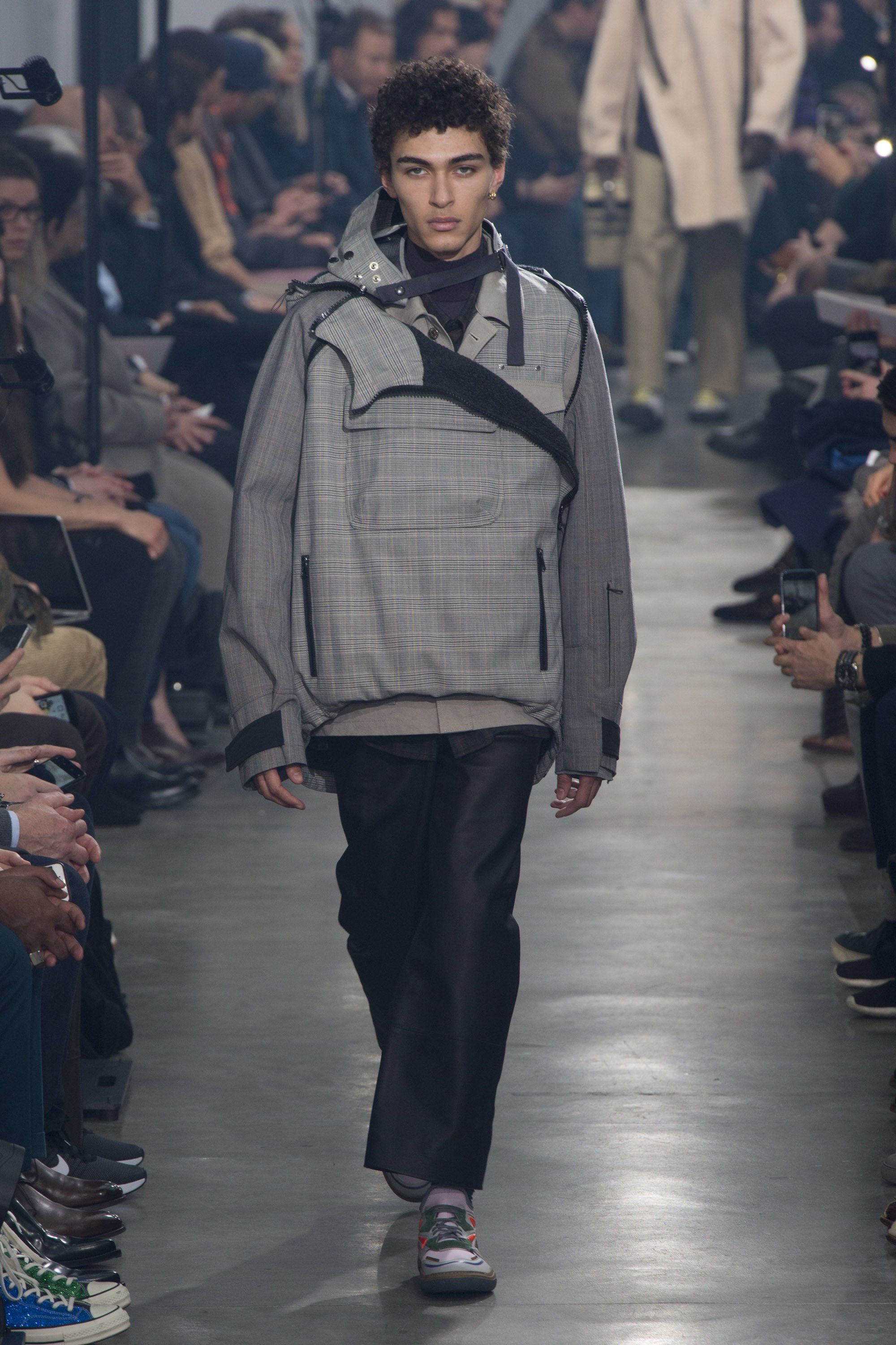Fashion style Mens lanvin fall runway for lady