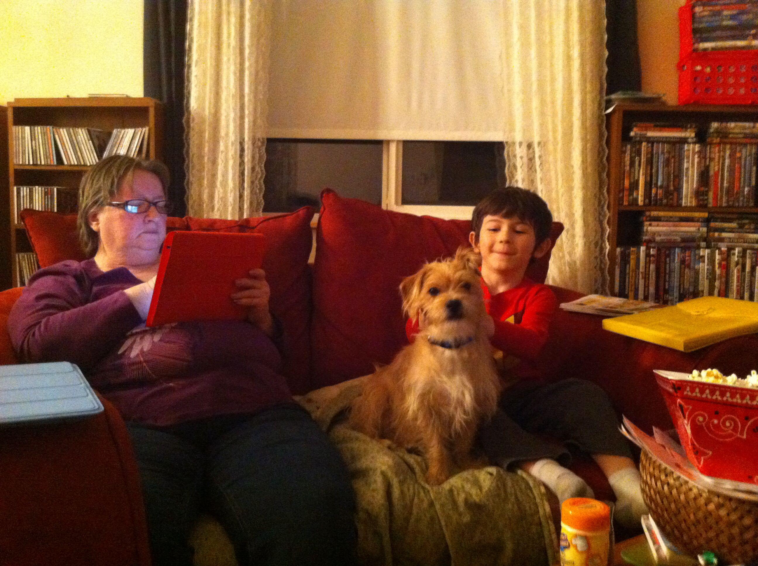 Mom, Echo, & Jarrod