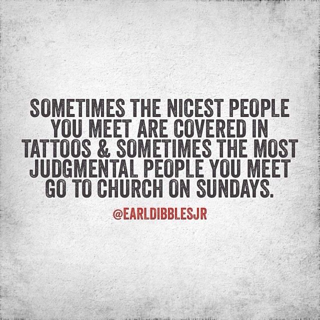 Sometimes The Nicest People You Meet Are Covered In Tattoos And