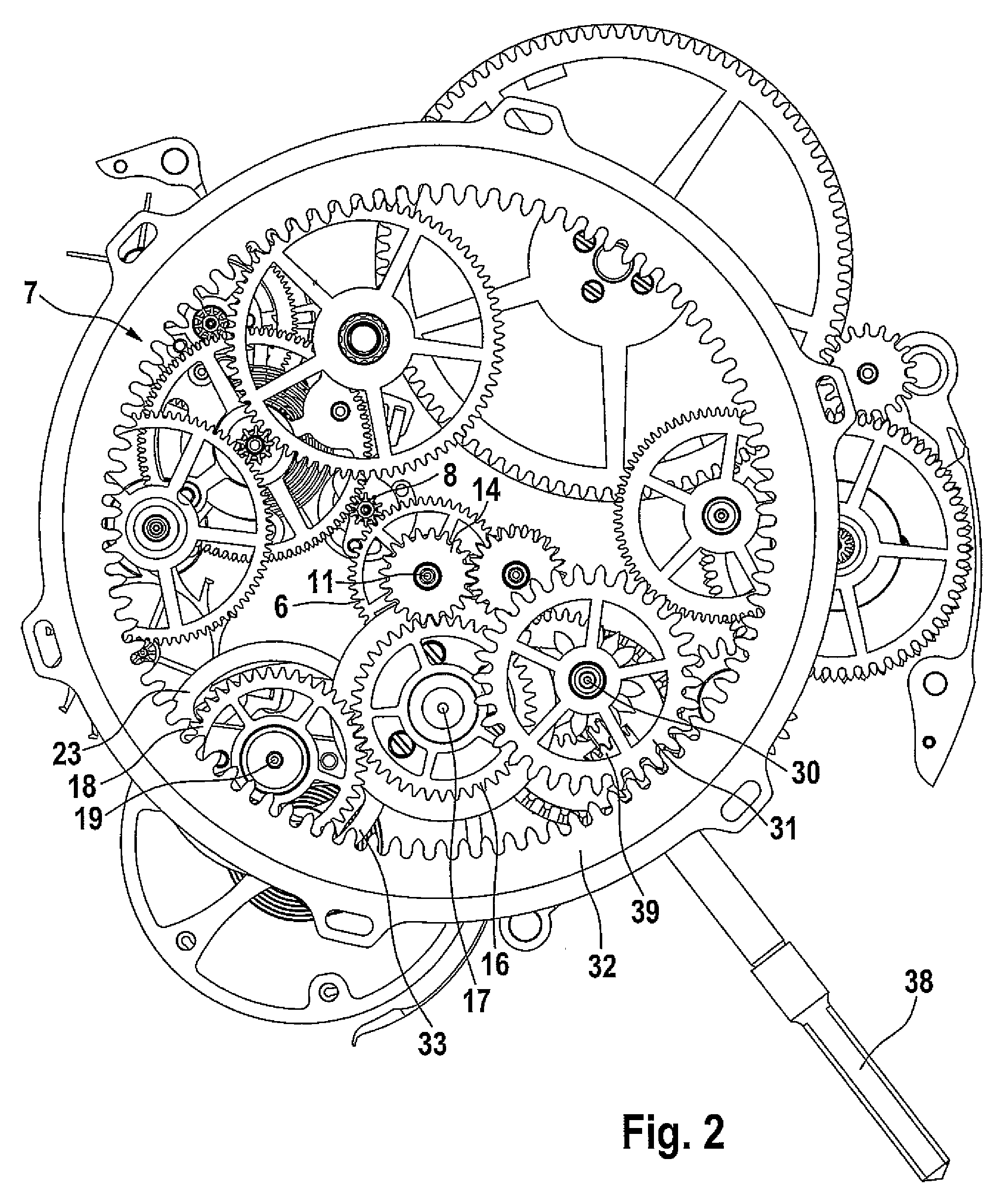Pocket Watch Movement Diagram Eye Eyeshadow Placement Us08406087 20130326 D00002 Png 20472424 Dövme