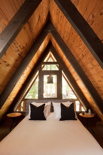 A-Frame Cabins   △TINY space▧   Pinterest   House, Google and Lake ...