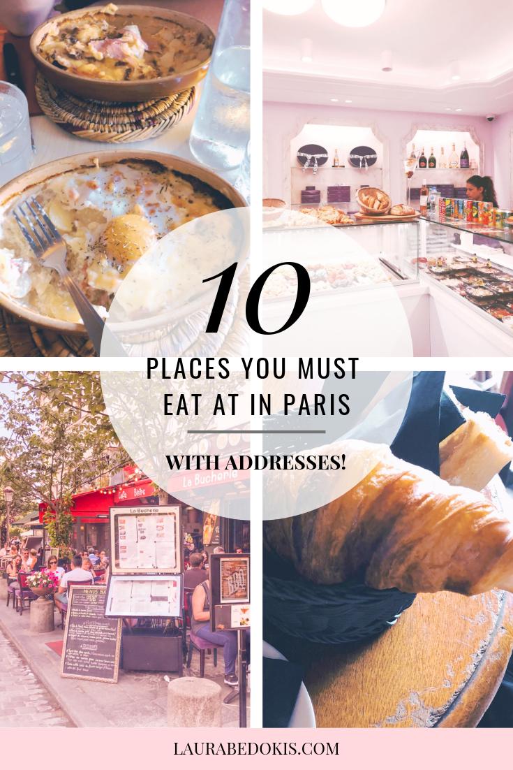 Paris Food: 10 of our Favorite Spots