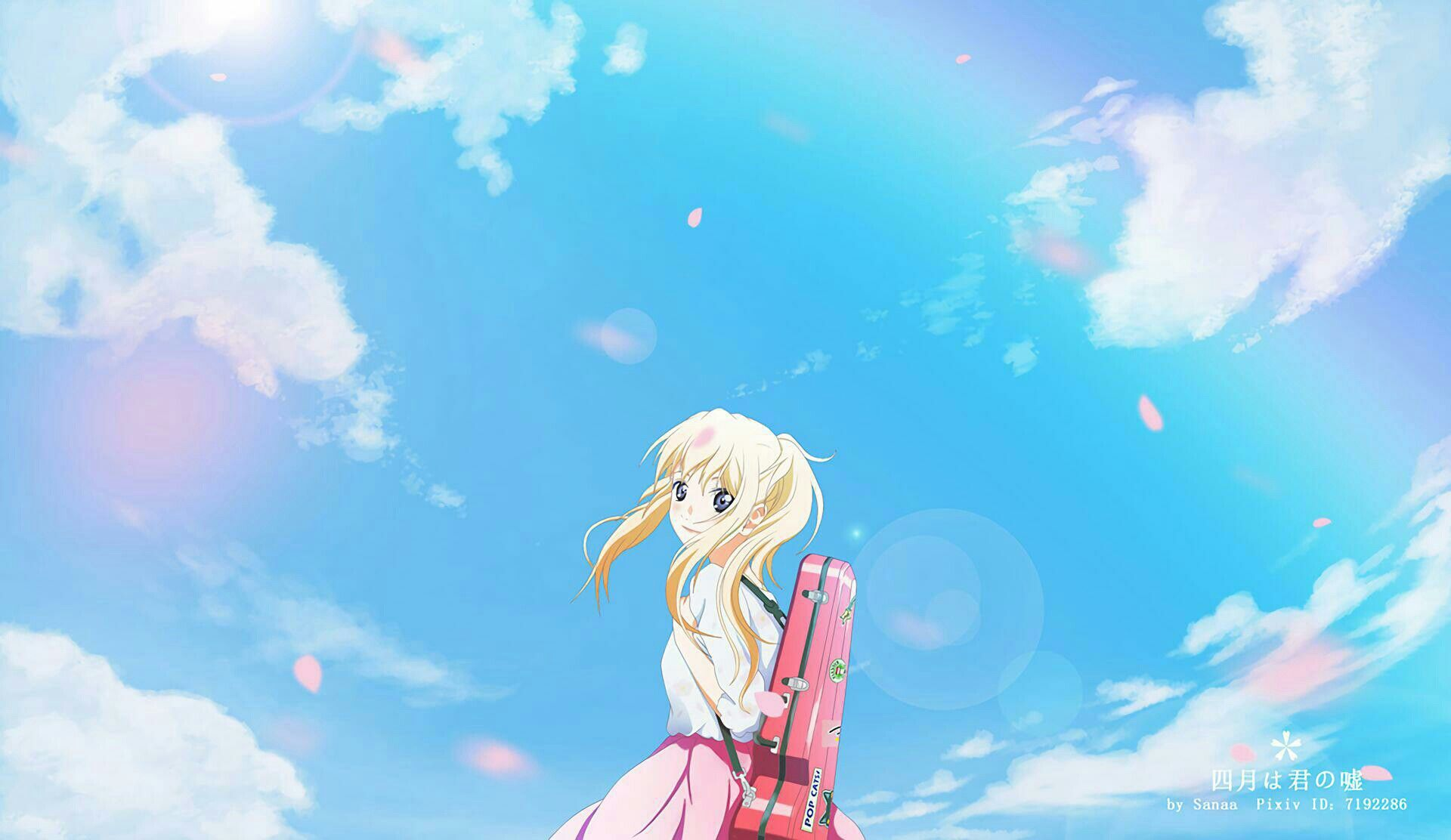 Pin By No Fuckoff On Your Lie In April Anime Wallpaper Your Lie In April Wallpapers Anime