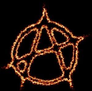 Flaming Anarchy Symbol T Shirt Hat Anarchy Symbol Anarchy Symbols
