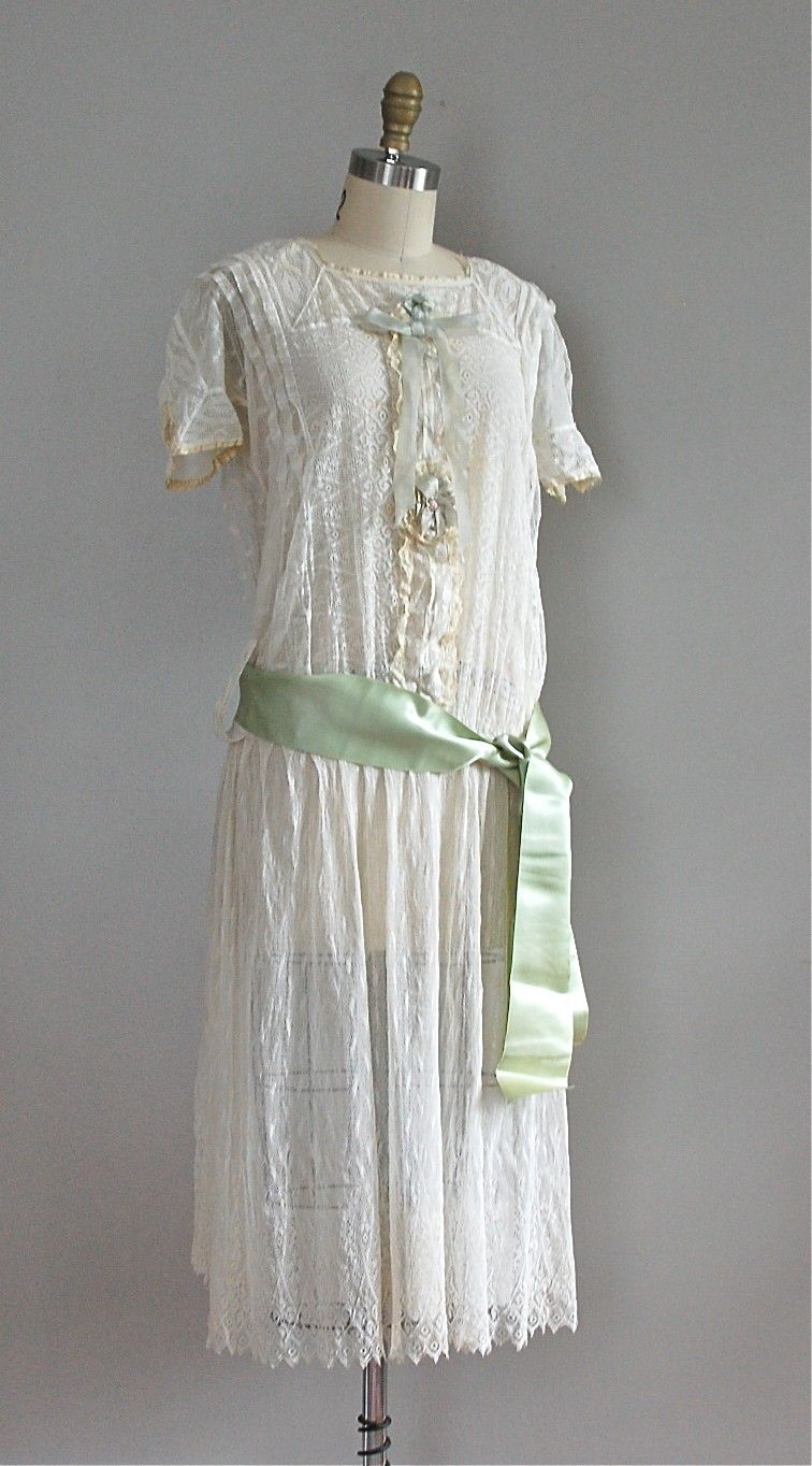 S drop waist lace dress vintage fashions pinterest drop