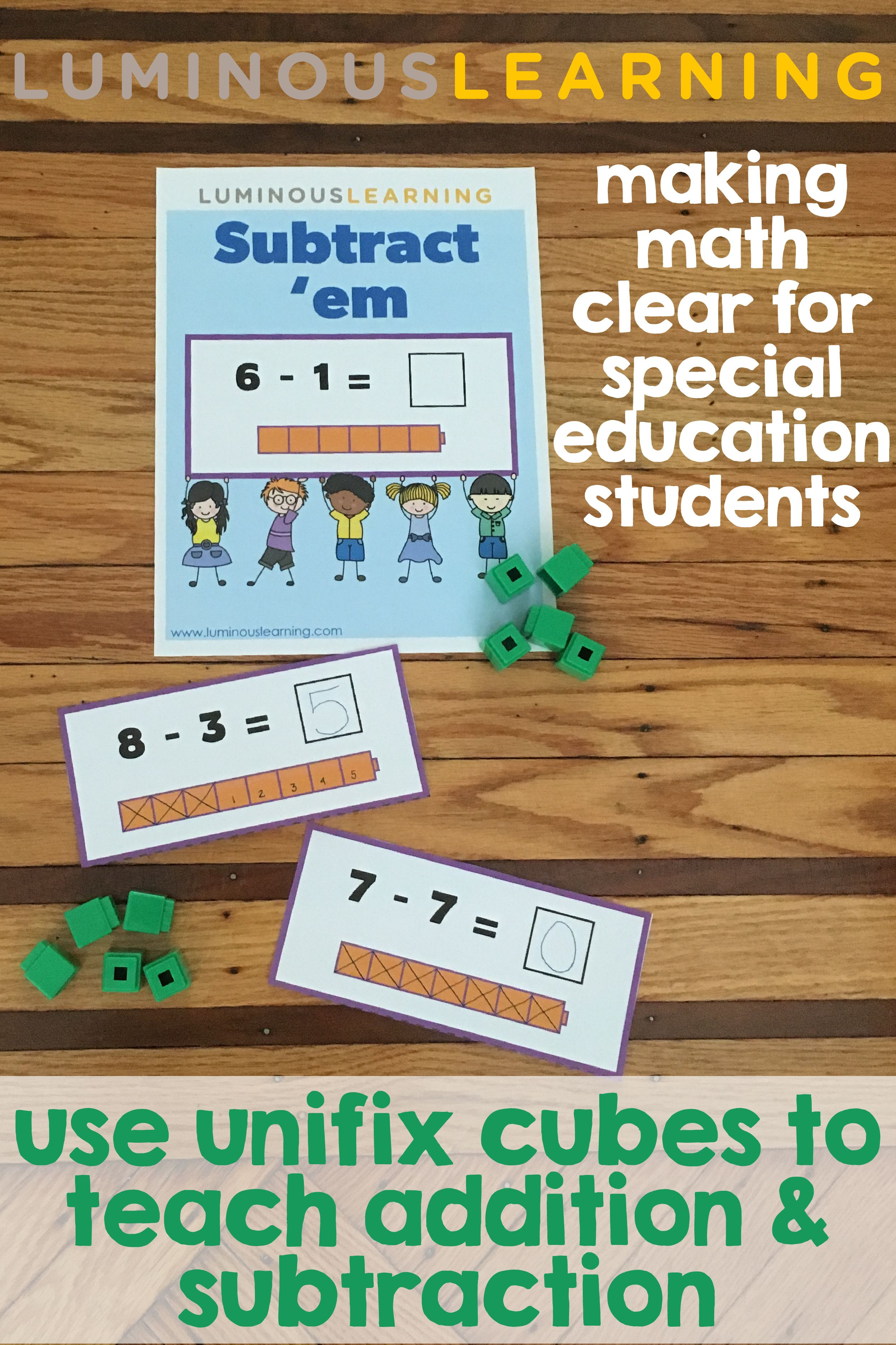 Make Math Clear Use Unifix Cubes To Teach Addition And