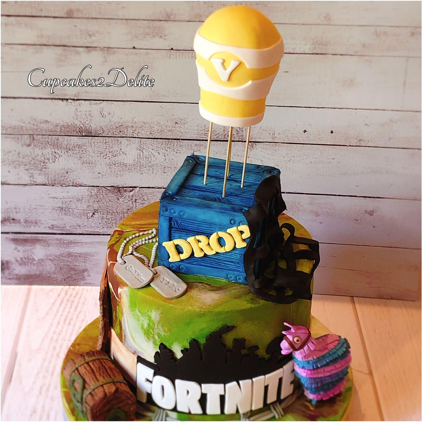Fortnite cake cool cake designs birthday party cake 10