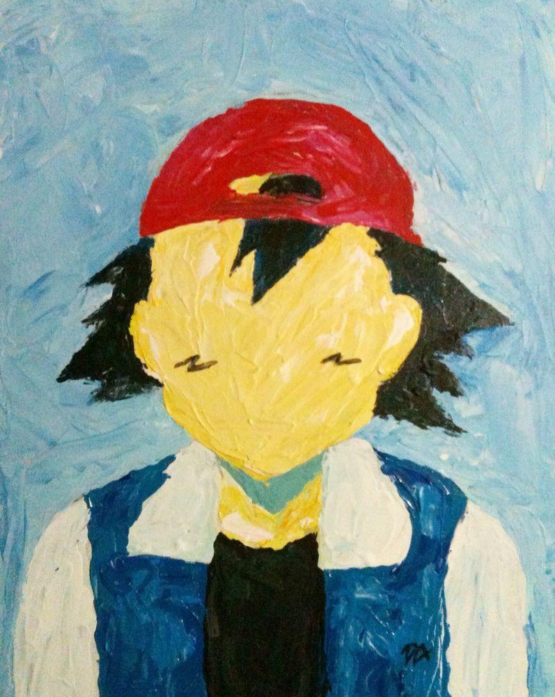 original artwork Ash