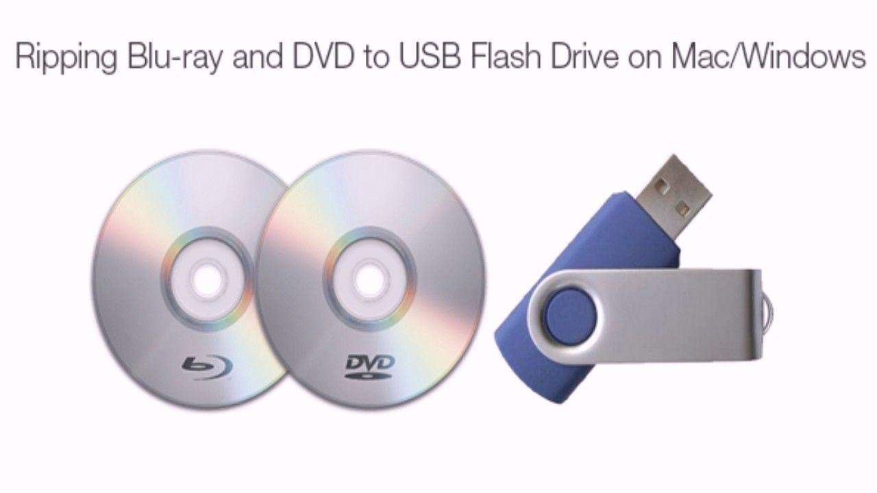 Backup Blu Ray Dvd To Usb Flash Drive Usb Flash Drive Usb Dvd
