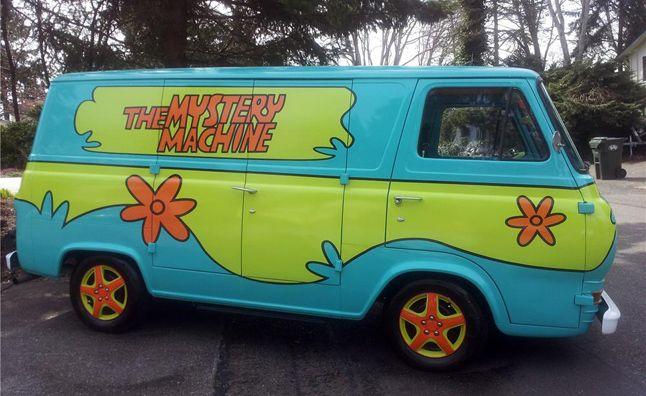 Mystery Machine Van Headed For Barrett Jackson Autoguide Com