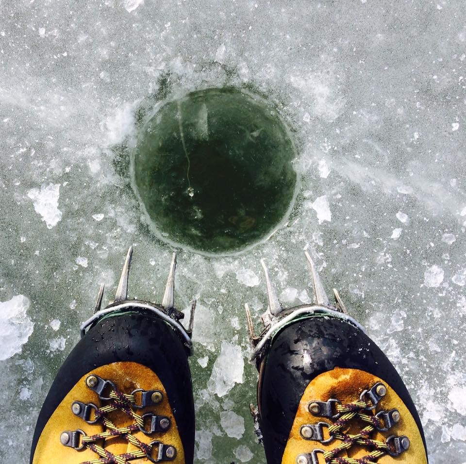 Survived the extreme sport of ice fishing on Saturday. I