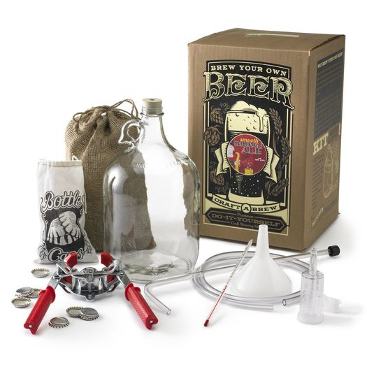 Groosmen gifts? Deluxe beer brewing kit by Craft A Brew , available on Wantful