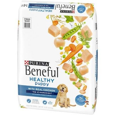 Purina Beneful Healthy Puppy Dry Dog Food 15 5lbs Size 15 5