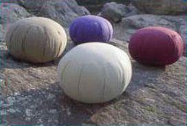 Organic Zafu Meditation Cushions (http://www.thecosmicbuddha.com/eco-friendly-zafu-meditation-cushion/)