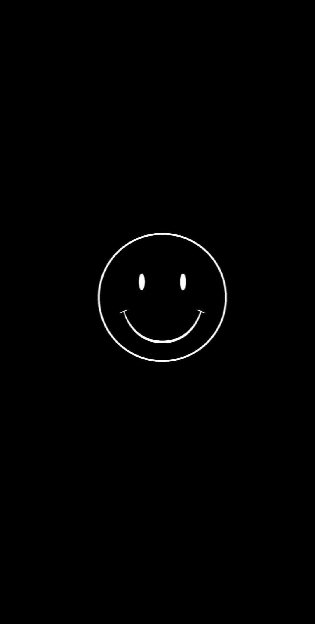 Wallpaper Wallpapers Duvarkagidi Instagram Tumblr Twitter Emoji Smile Black Kutipan Terbaik