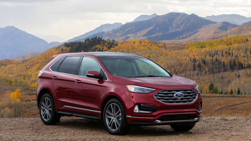 Ford Edge First Drive Review Dearborns New Standard