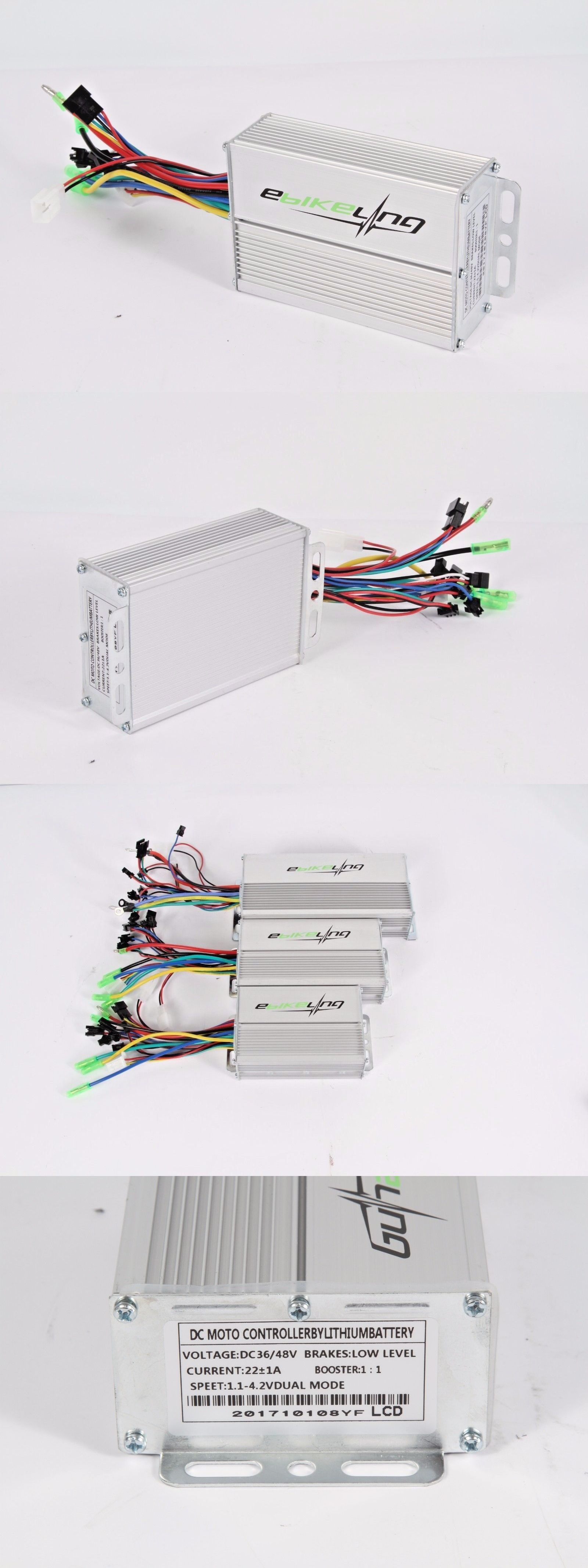 Electric Bicycle Components 177814 36 48v Brushless Dc Motor Controller Bldc Ebike Lcd Led Ebikeling Buy It Now Only 4299 On Ebay