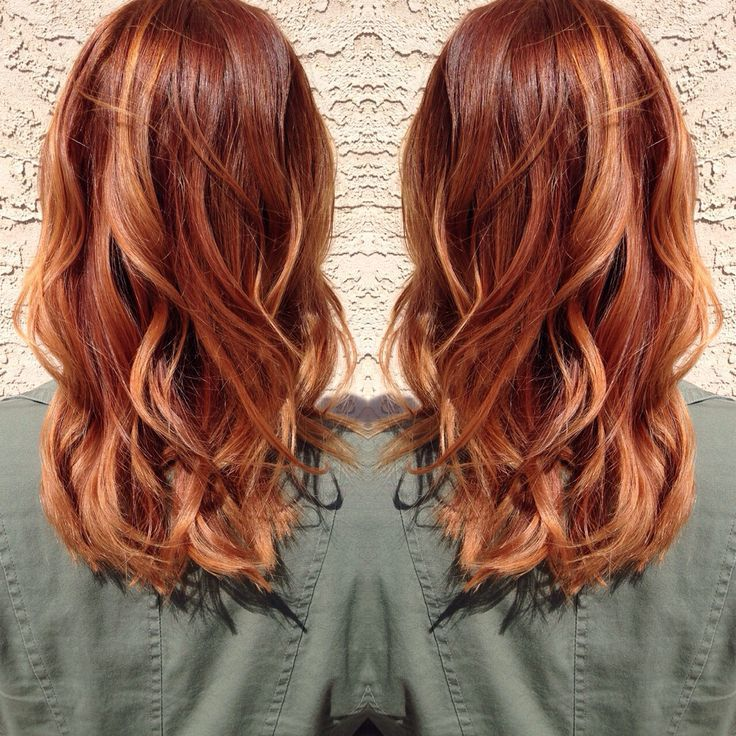 Pictures of copper highlights on blonde hair hair 2 pinterest pictures of copper highlights on blonde hair pmusecretfo Choice Image