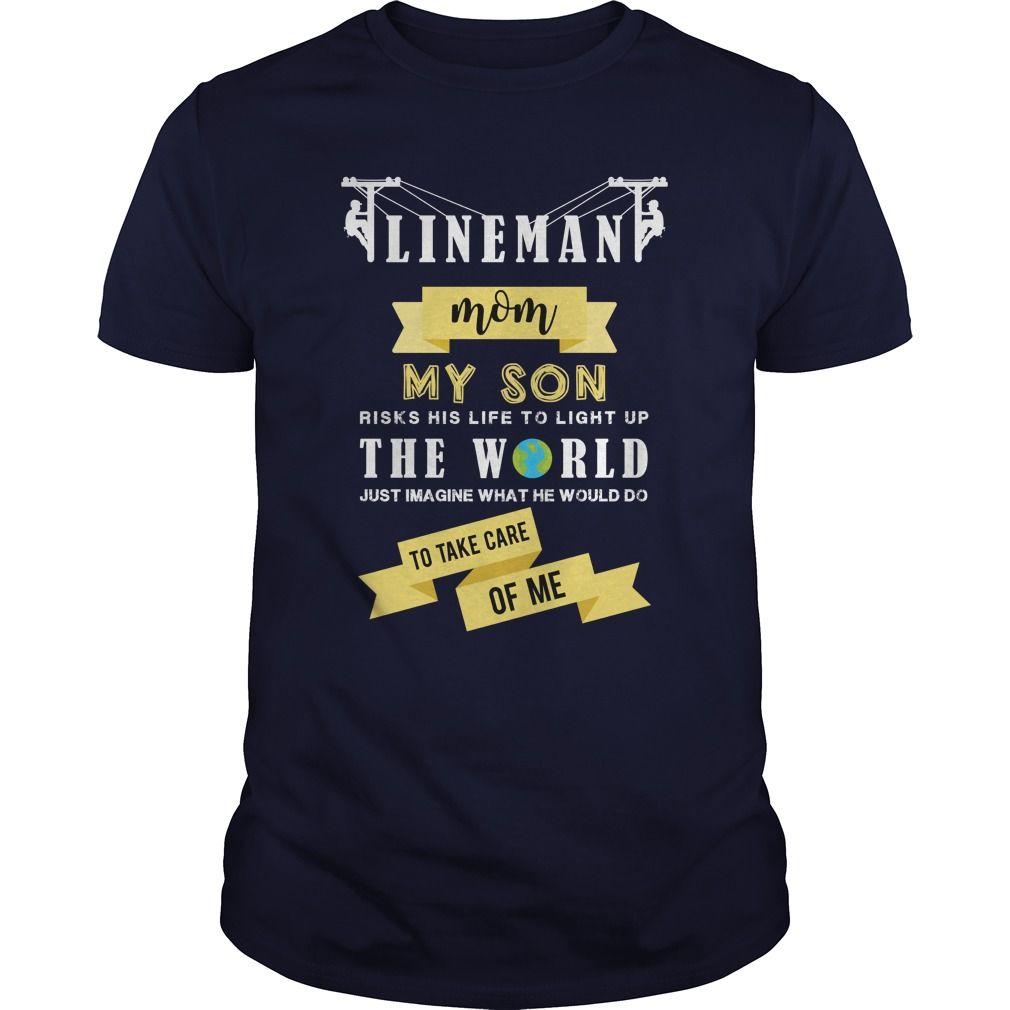 Design t shirt jerseys online - Lineman Mom The World Tees Mens T Shirts By Design T Shirt Manufacturers