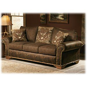 Marshfield Whitetail Ridge Furniture Collection Queen Sleeper Sofa