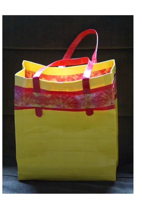 Duct Tape reusable grocery bag - FOR SALE