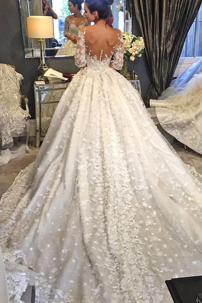 18 Of Our Favorite Steven Khalil Wedding Dresses ❤ See more: http ...