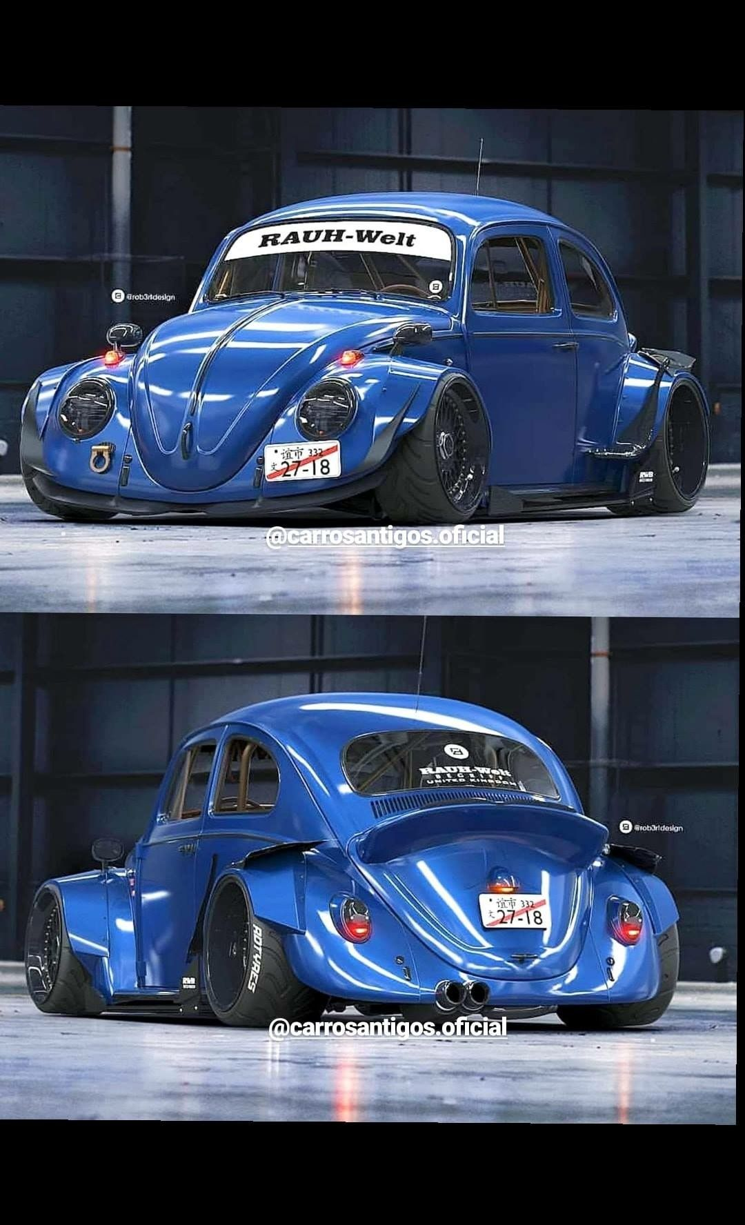 Fake Rwb With Images Classic Volkswagen Vw Classic