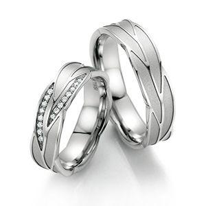 Alianzas De Matrimonio Fabricadas En Oro Blanco Paladiado Disponbles En 18k 14 Anillos De Pareja Anillos De Compromiso De Topacio Anillos De Boda Originales