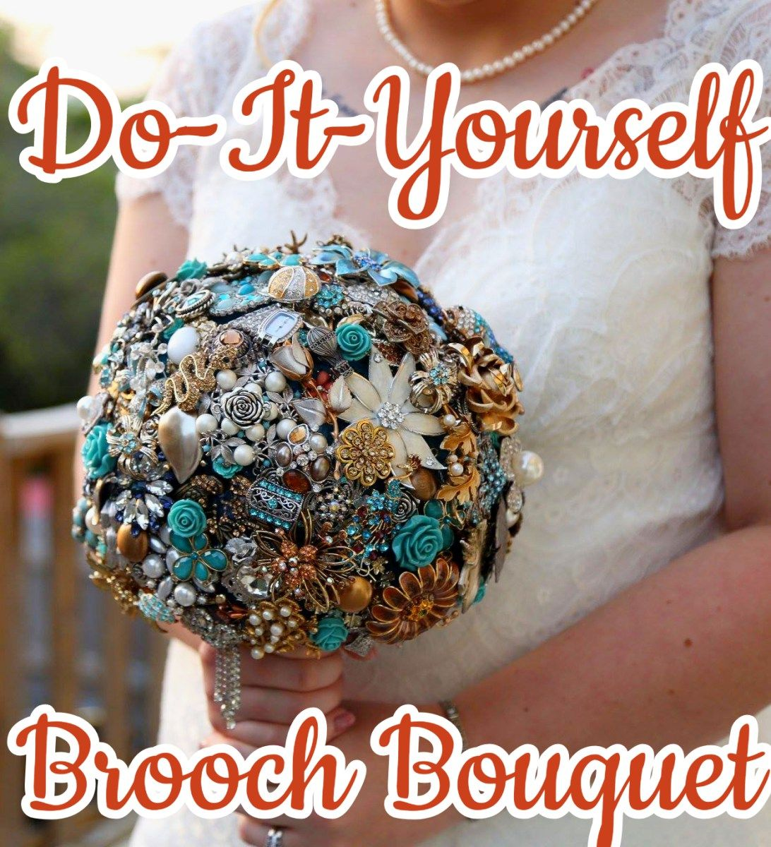 DoItYourself Brooch Bouquet (With images) Brooch