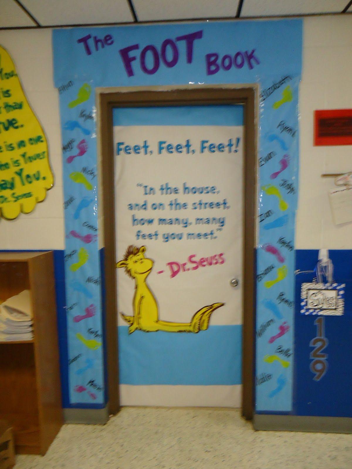 Dr seuss door decorating contest ideas bookshelf monstrosity
