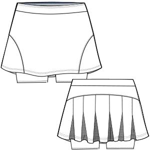 d0af5833c Patrones y moldes para usuarios domésticos y profesionales Falda ...