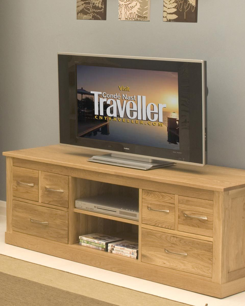Solid Oak Widescreen Television Cabinet This Solid Oak Tv Cabinet Is A Beautiful Piece Of Home D Solid Oak Furniture Television Cabinet Living Room Storage