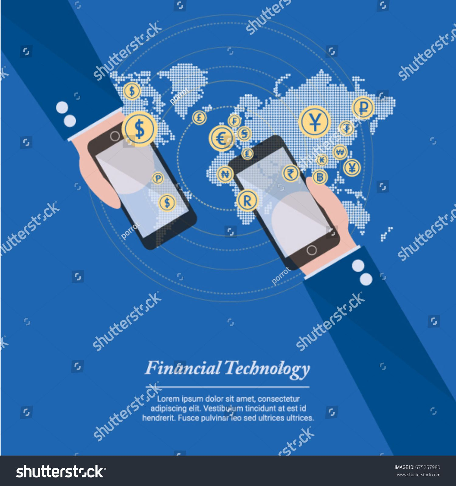 Financial Technology The New Technology Of Business And Finance In The World Of Innovation This Is Very Useful For Presenta Business Finance Finance Business