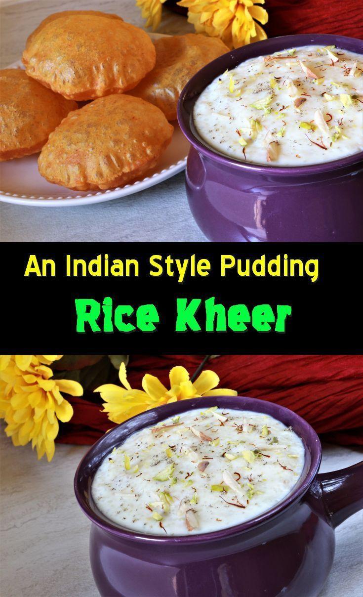 Kheer | Recipe | Indian food recipes, Food recipes, Rice kheer