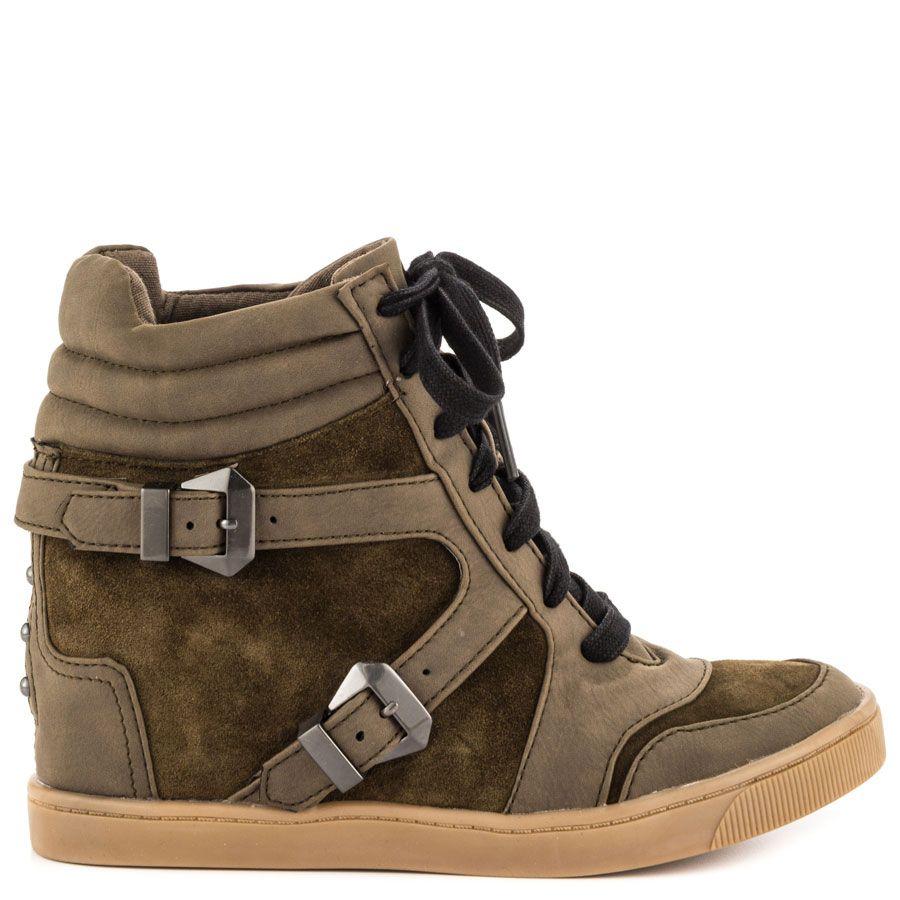 3e01db49b Willa - Militare MS Grn Circus by Sam Edelman  89.99 Wedge Sneakers
