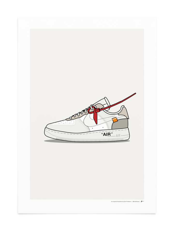 OffWhite Air Force 1 in 2020 White air force 1, Sneaker