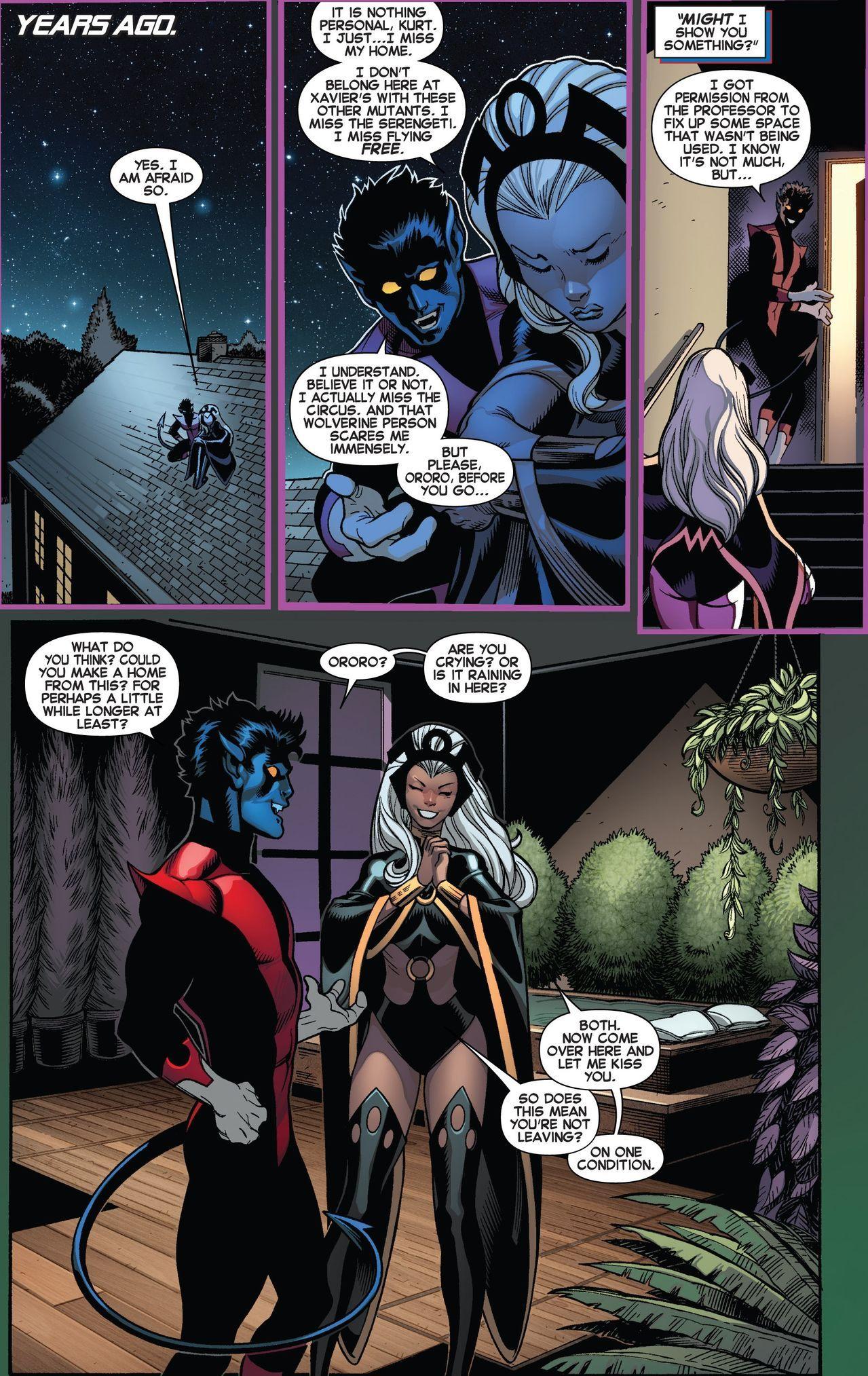 Storm And Nightcrawler X Men My Board Marvel Characters Marvel Comics X Men
