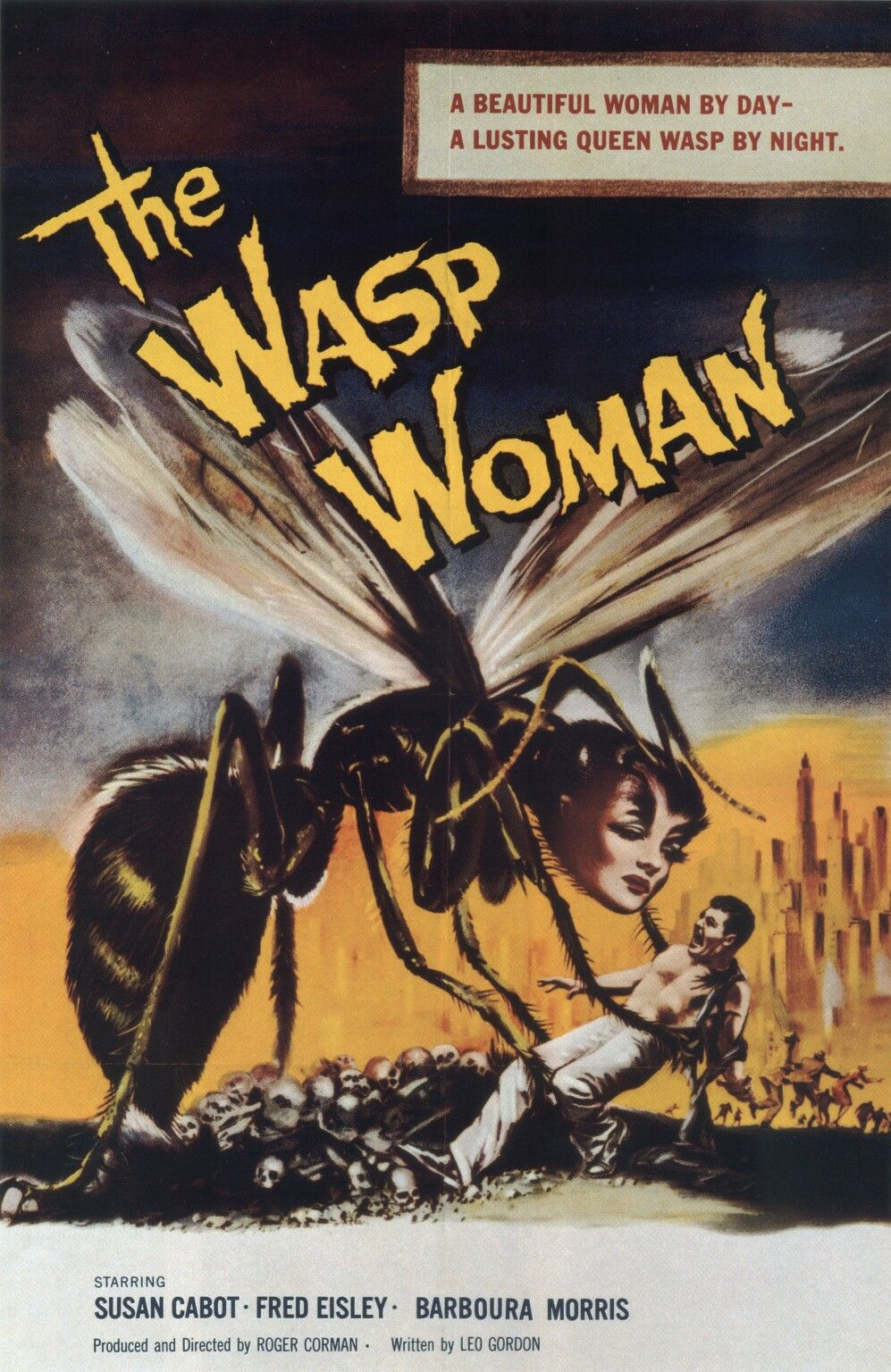 The Wasp Woman Repro Advertising POSTER