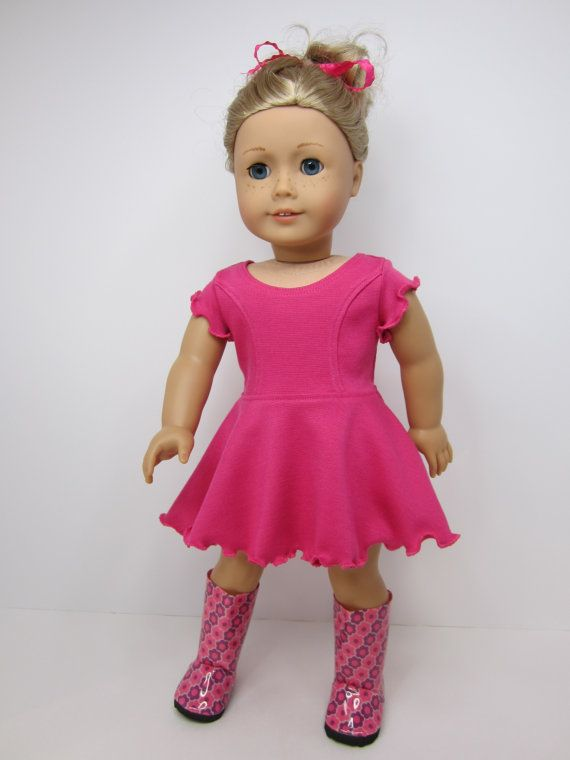 American Girl doll clothes Super cute Hot pink by JazzyDollDuds ...