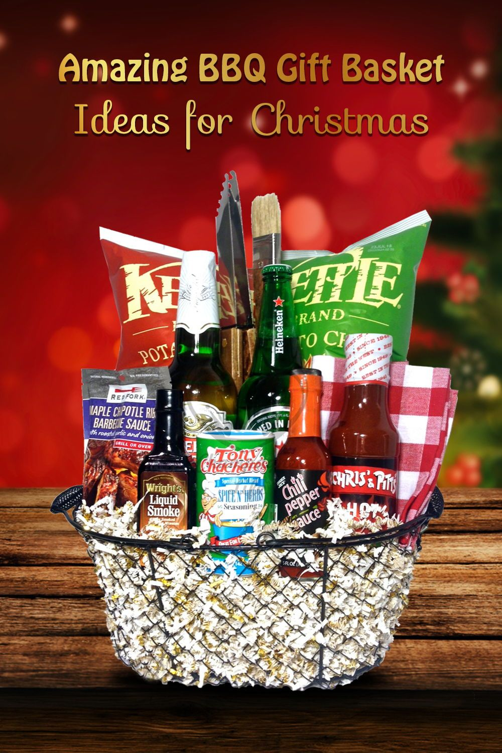 17 Amazing Bbq Gift Basket Ideas For Any Bbq Lovers Grills Forever Bbq Gift Basket Bbq Gifts Grilling Gifts