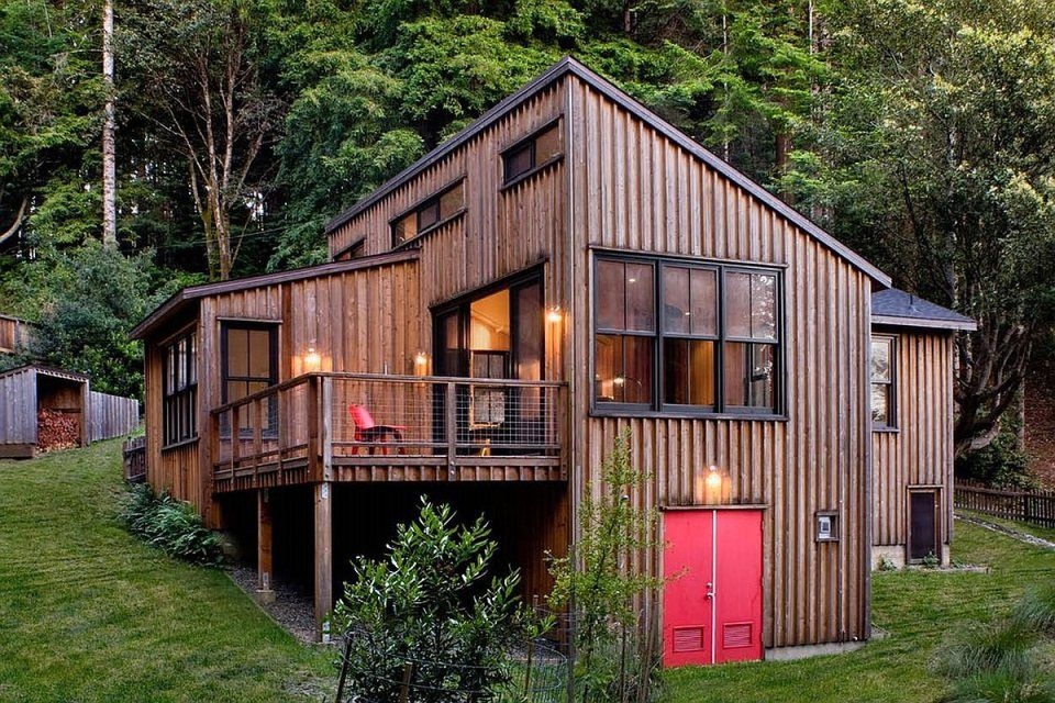 Attractive A Woodsy Cottage By Architect Cathy Schwabe With 2 Bedrooms In 840 Sq Ft |  Www