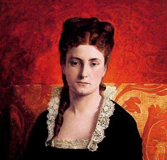 Retrato neoclásico por el académico francés Laurens.