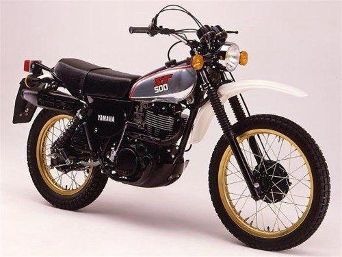 Motos Yamaha Anciennes Et De Collection Motos Yamaha Xt 500 Motos